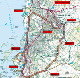 Lake District Bike and Cycling Routes